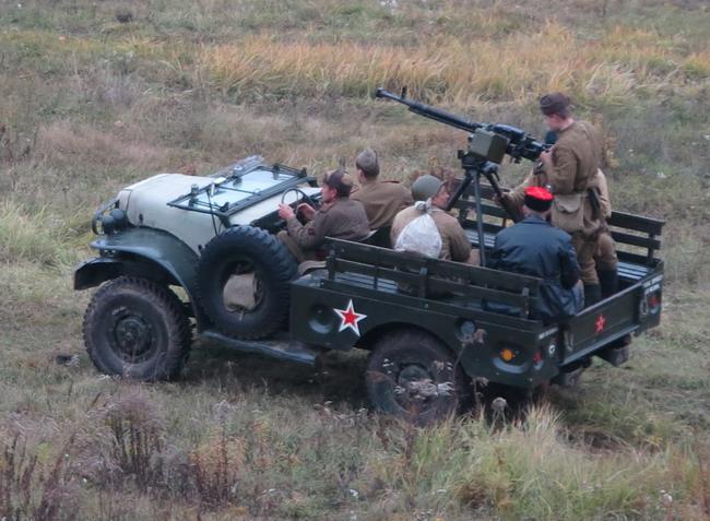 Военно-исторический фестиваль «Даешь Киев»: Dodge WC51