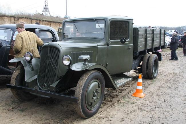 Военно-исторический фестиваль «Даешь Киев»: Citroen 23