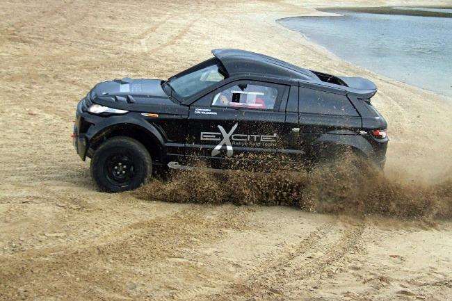 Range Rover Evoque поедет на ралли Дакар