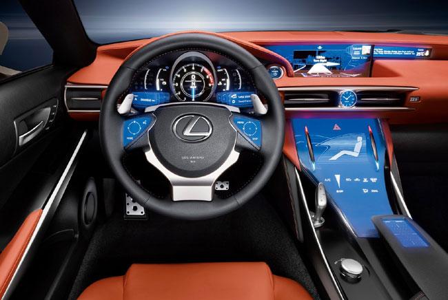 Автосалон в Лос-Анджелесе 2012: концепт Lexus LF-CC