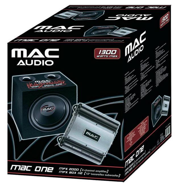 Сабвуферный комплект Mac Audio