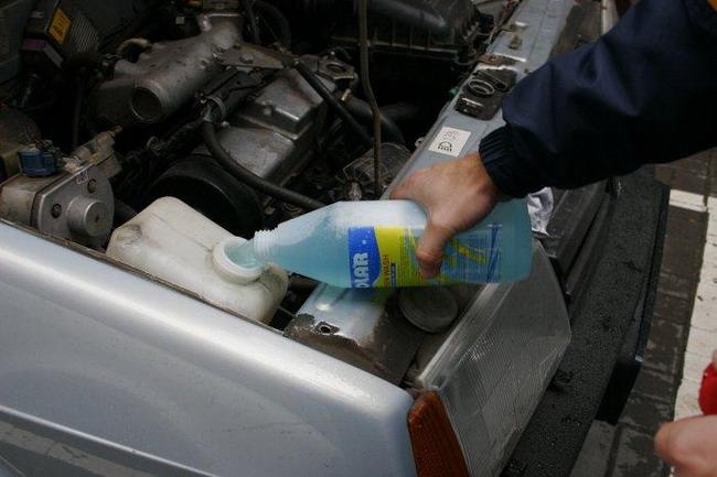 Подготовить машину к морозам