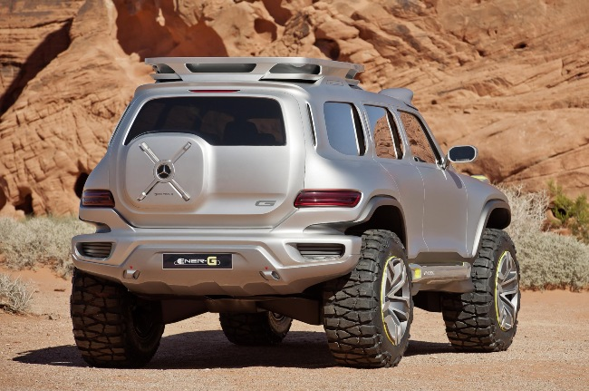 Лос-Анджелесский автосалон 2012: внедорожник Mercedes G-Class