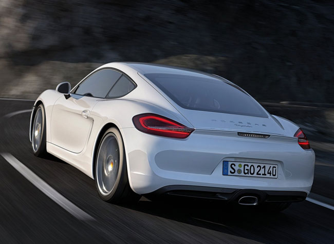 Автосалон в Лос-Анджелесе 2012: новый Porsche Cayman