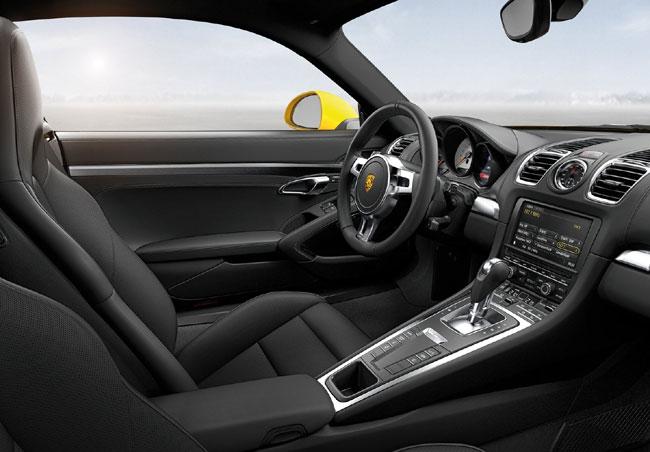 Новый Porsche Cayman на автосалоне в Лос-Анджелесе 2012