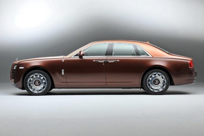 Новый Rolls-Royce Ghost