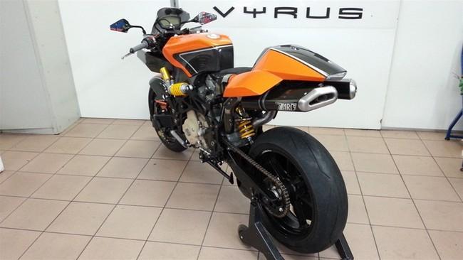 Новый спортбайк Vyrus 984 Ultimate Edition