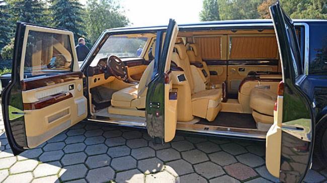 Новый лимузин ЗиЛ