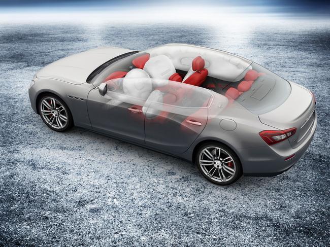 Новый Maserati Ghibli получил 5 звезд в краш-тестах Euro NCAP