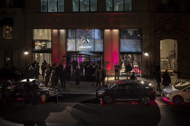 Citroen откроет бутик DS World Paris