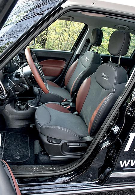 Тест-драйв Fiat 500 L Trekking