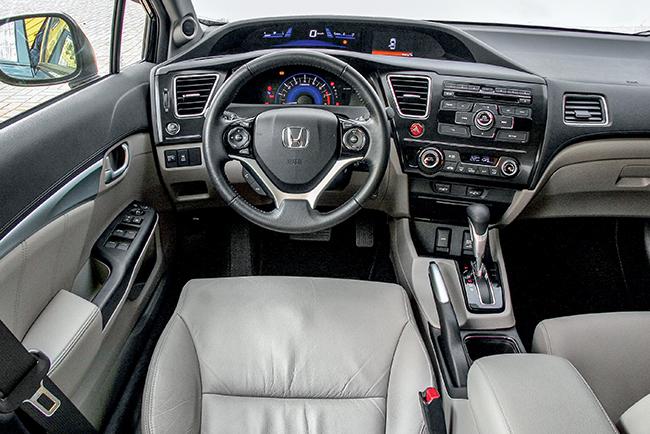 Тест-драйв Honda Civic