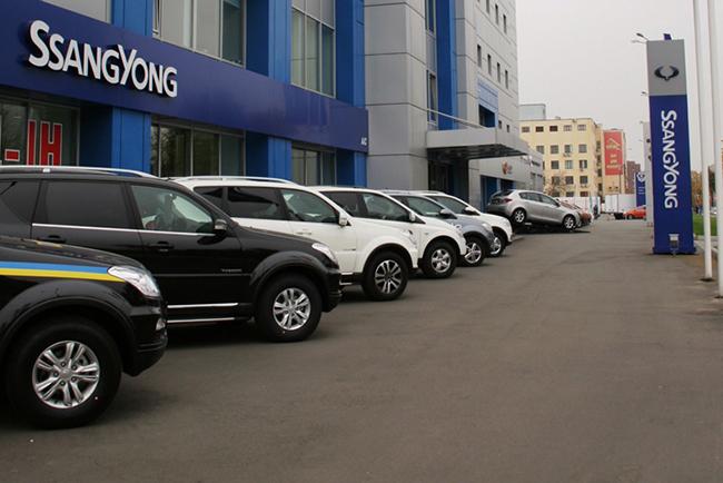Обновленный монобрендовый автосалон SsangYong