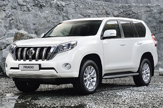 новый Toyota Land Cruiser Prado в Украине