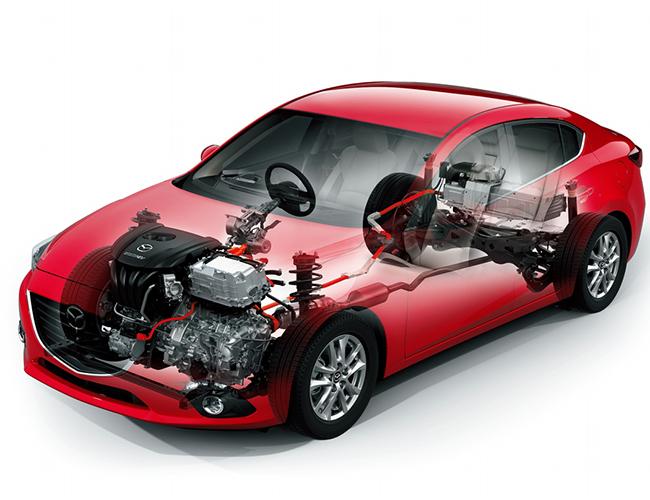 Мировая премьера Mazda3 Skyactiv-Hybrid