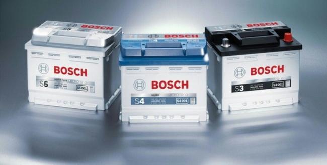 АКБ компании Bosch