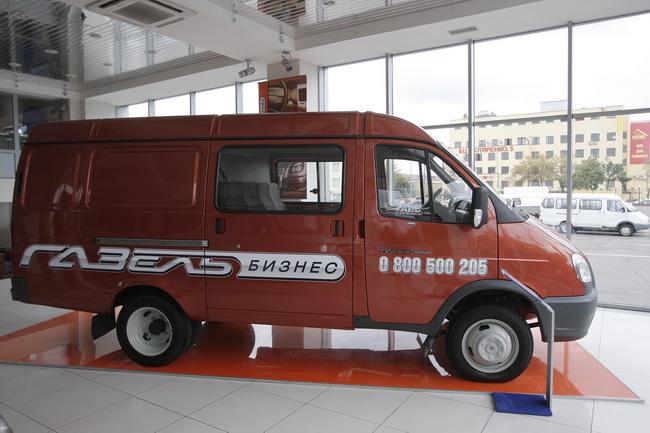 «Газель» - лидер российского рынка коммерческих автомобилей