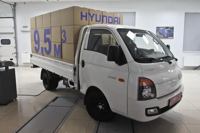 грузовик Hyundai H100