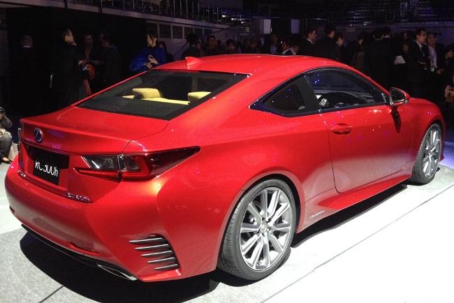 Новый Lexus RC