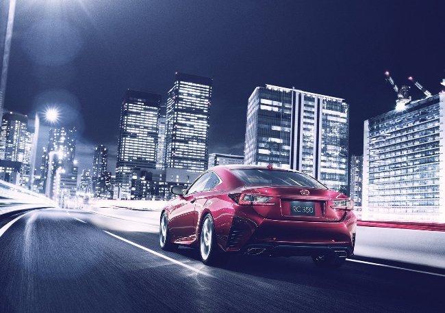 Токийский автосалон 2013: новый Lexus RC