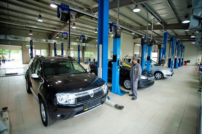 Комплекс сервисных услуг для автомобиля Renault