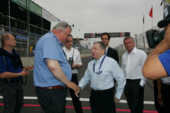 WTCC, несмотря на присутствие Президента ФИА Жана Тодта, Марракеш не был включен в календарь 2011-го года