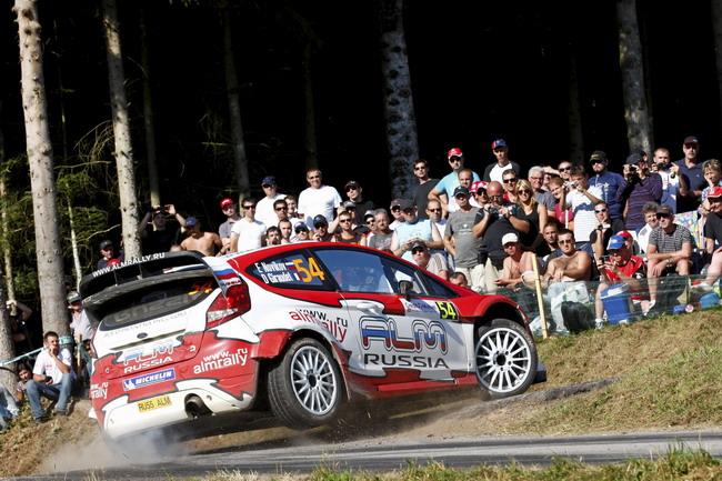 WRC, Ралли Франции: Евгений Новиков