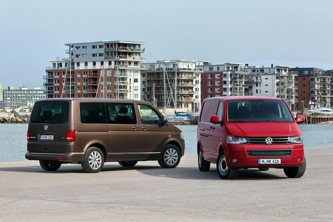 продажи коммерческих автомобилей Volkswagen