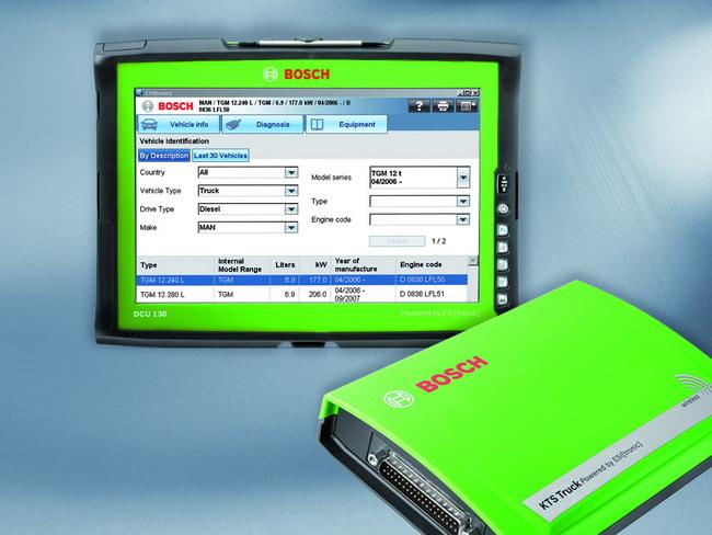 Диагностический сканер KTS 800 Truck