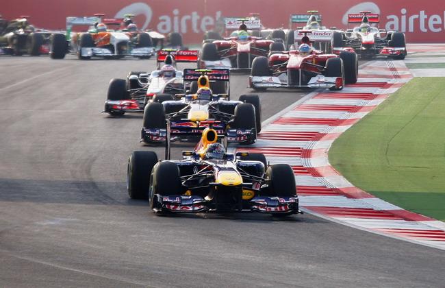Формула 1. ГП Индии.