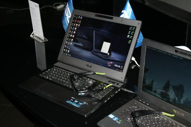 Новый игровой ноутбук Asus G74Sx представили в Киеве.