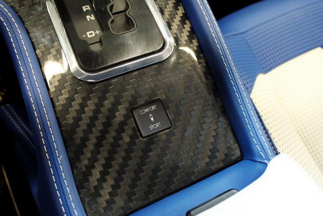 В интерьере Mercedes-Benz G-class от Mansory - карбоновая отделка или древесина на выбор.