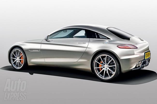 Mercedes SLS обзаведется младшим братом