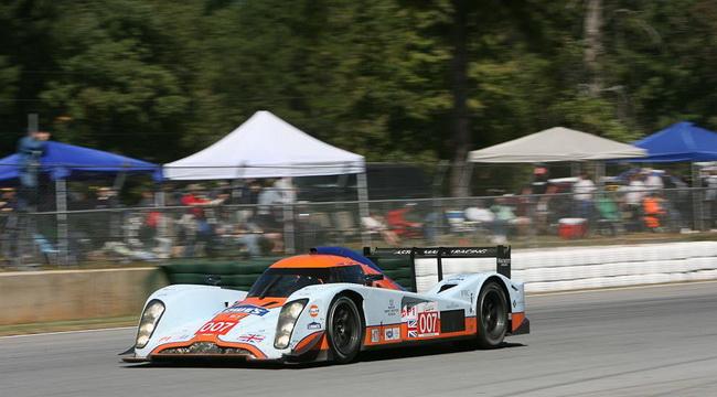 """""""Маленький Ле Ман-2011"""", в гонке довелось лидировать и старому бензиновому прототипу Lola Aston Martin №007"""