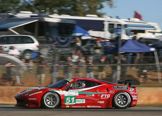 """""""Маленький Ле Ман-2011"""", гонка свелась к противостоянию заводской Ferrari №51 с обеими машинами BMW"""