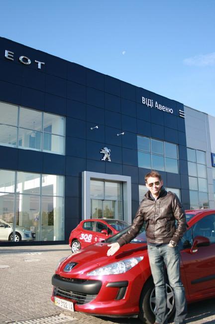 Peugeot «ВиДи Авеню» встретил первого клиента