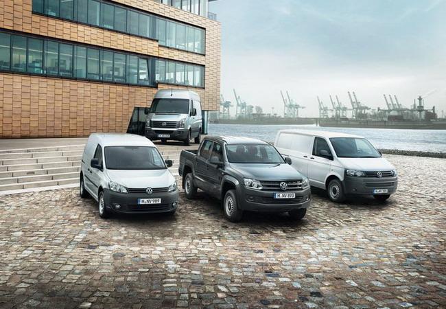 Спрос на коммерческие автомобили Volkswagen продолжает расти