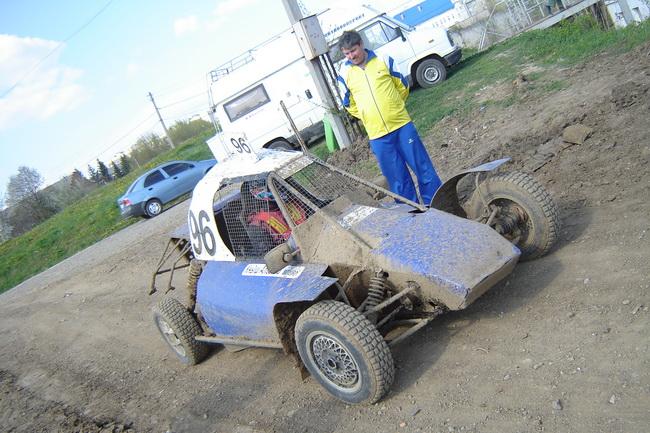 Автокросс в Черновцах - на кроссе бувает грязно