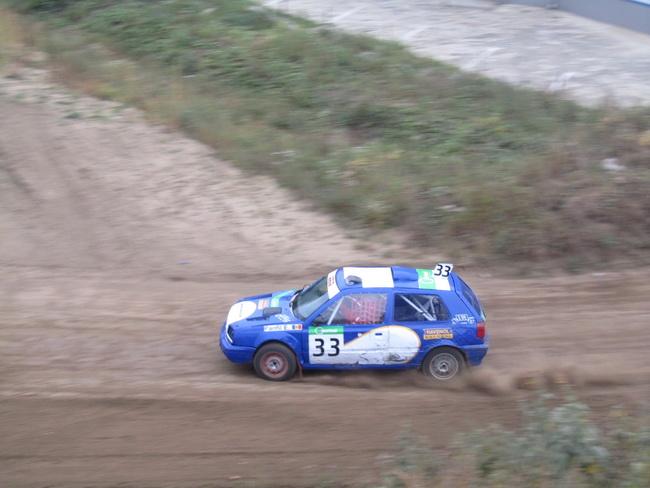 Черновцы, 5-й этап Чемпионата Украины по автокроссу, будучи единственным пилотом на полном приводе Евгений Панфил победил в 12-м классе