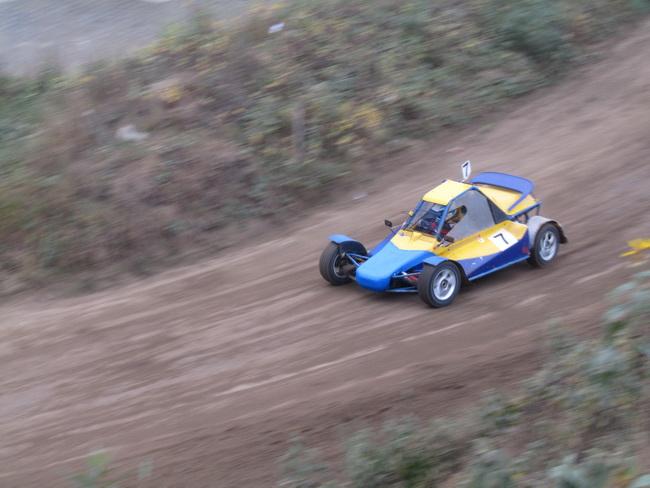 Черновцы, 5-й этап Чемпионата Украины по автокроссу, Руслан Ткаченко стал вторым в 4-й группе багги