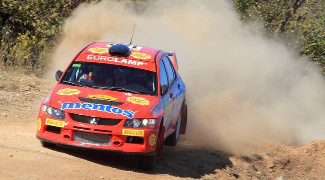 Единственным в P-WRC, кто был близок к времени лидирующих Флодина и Косцюшко оказался Александр Салюк младший, но только на одном СУ1