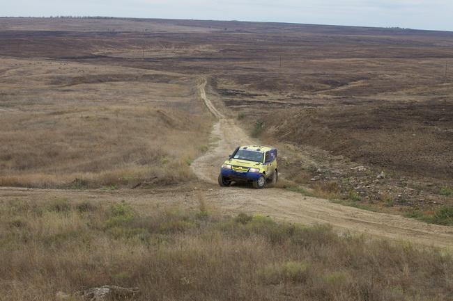Для своего дебюта в ралли-рейдах Руслан Цыплаков выбрал бывший автомобиль Богдана Новицкого