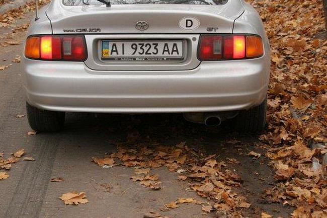 Торможение на опавших листьях может быть опасным