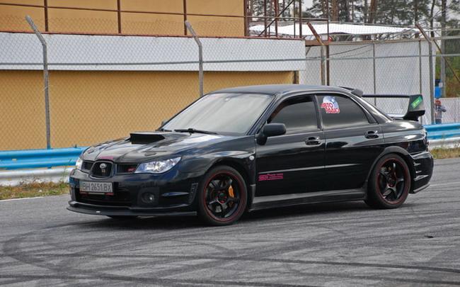 В столице прошел осенний Subaru-слет