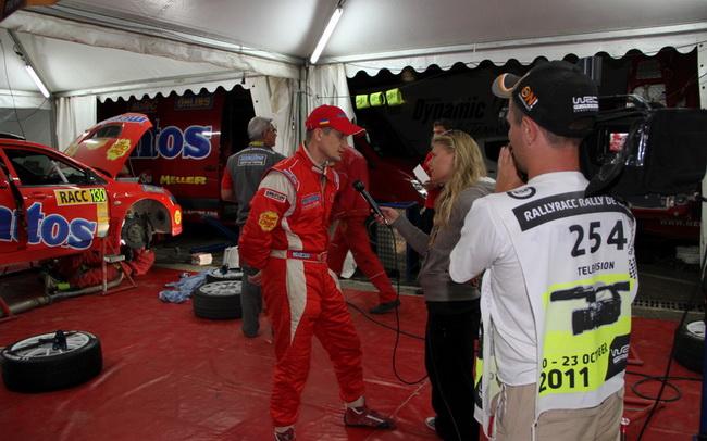 Выступающий последнее время в основном на гравийных гонках, в Испании Горбань сделал вывод, что ему нужно совершенствоваться и на асфальте