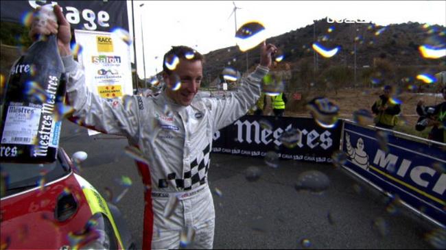 Радости Мика не было предела: это не только его первая победа на PowerStage, но в рамках WRC и первый выигранный СУ, первые очки и даже первый финиш!