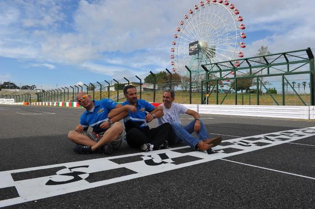 Все три пилота Chevrolet перед гонкой в Японии полностью расслаблены - команда продлила с ними контракты на следующий год