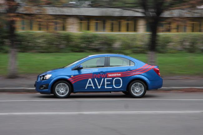 Новый Chevrolet Aveo: тест-драйв