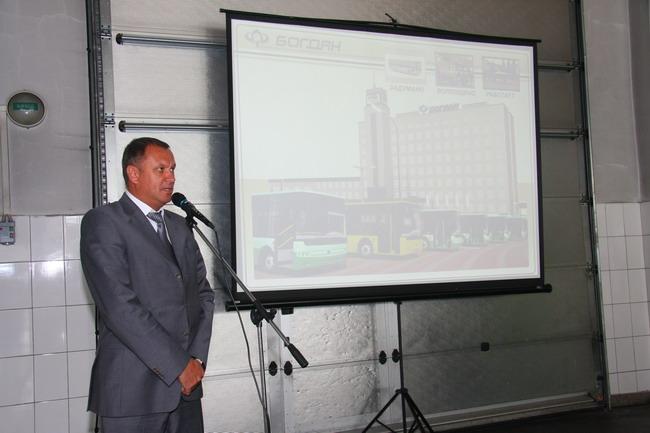 Обновленная линейка автобусов Богдан