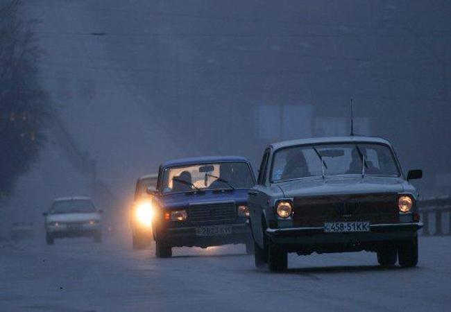 ГАИ предупредила водителей об ухудшении погоды